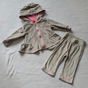 Baby Girls Puma Track Suit Outfit Pants Sweater